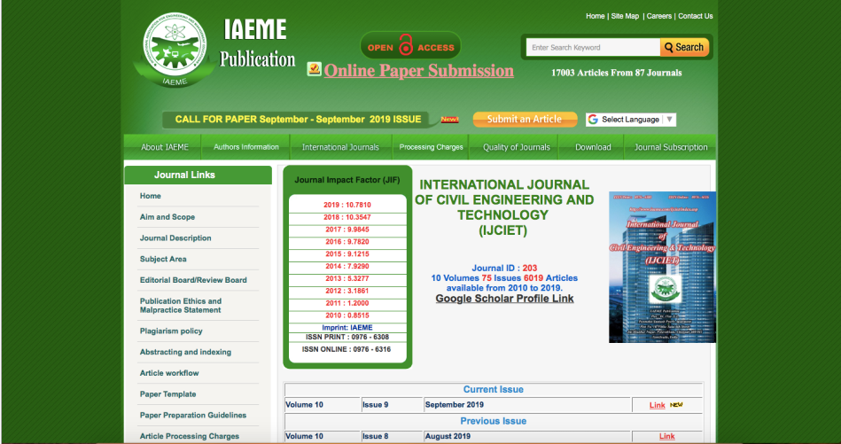 International Journal of Civil Engineering And Technology (IJCIET)