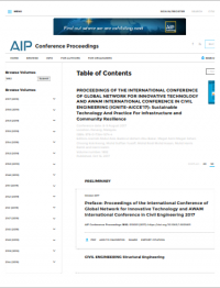 Image of AIP Conference Proceedings